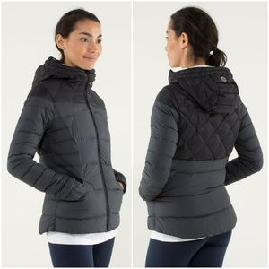 Rare Lululemon Fluffin' Awesome Puffy Jacket Black